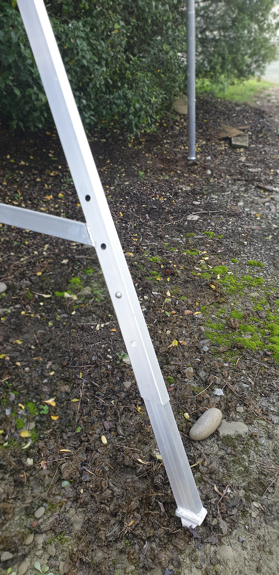Property Care Ladder Extendable Side Leg