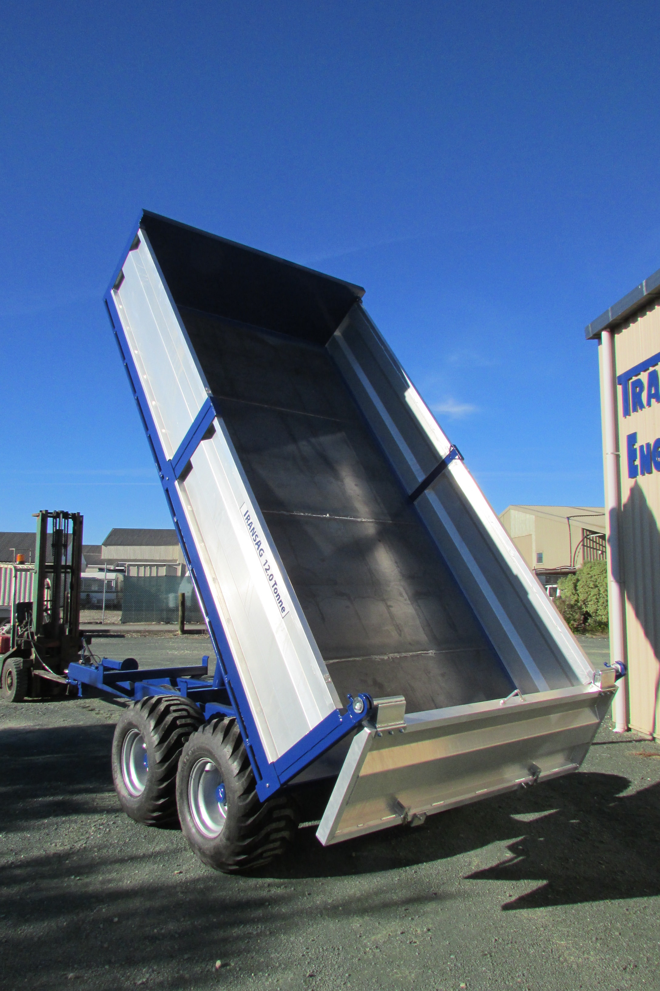 TransAg 12.0 Tonne Hydraulic Tip Trailer