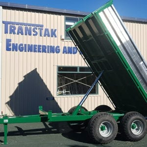 TransAg 8.0 Tonne Trailer - Green