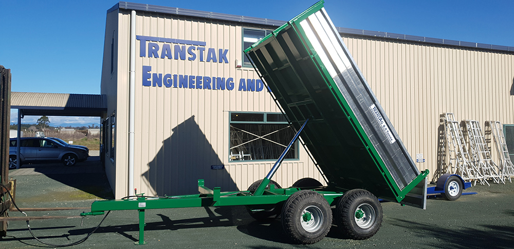 TransAg 8.0 Tonne Trailer – Green