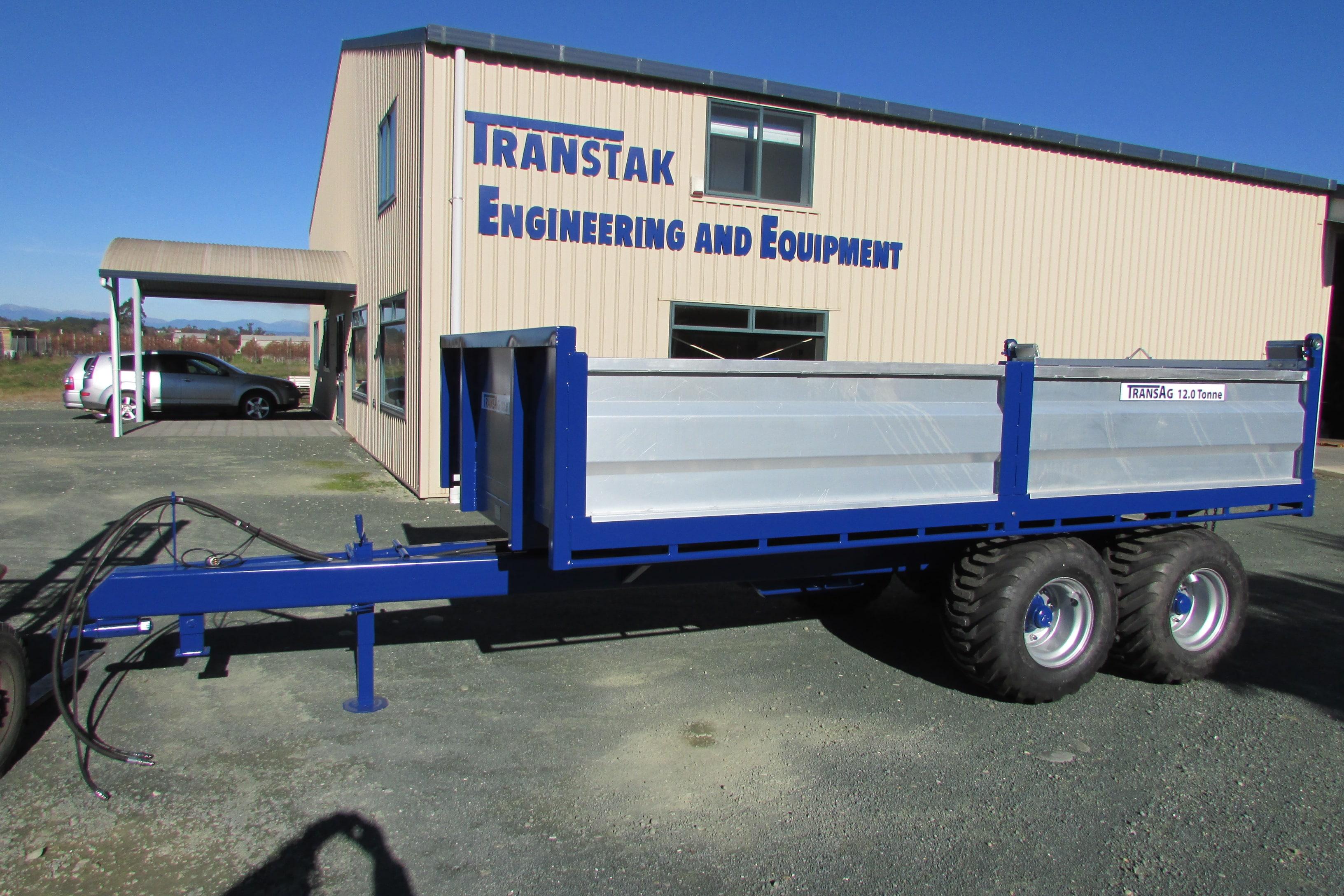 12.0 Tonne Hydraulic Trailer